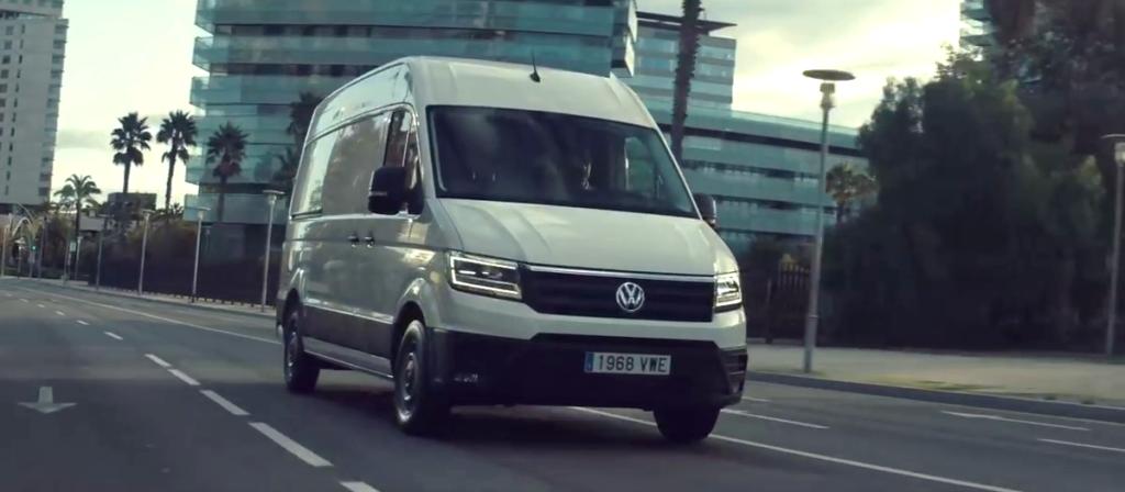Volkswagen Crafter, el furgón más cómodo para trabajar