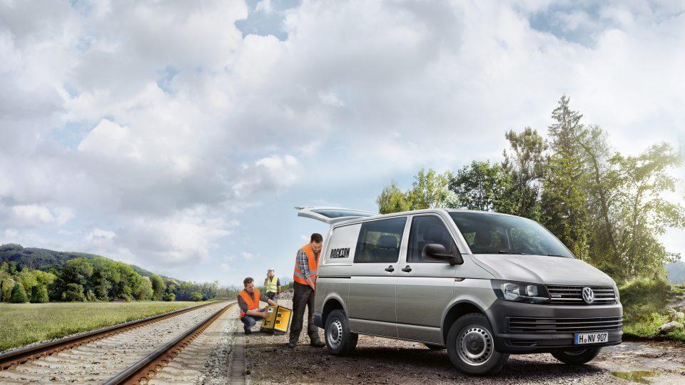 Volkswagen Transporter Rockton, el Transporter todoterreno