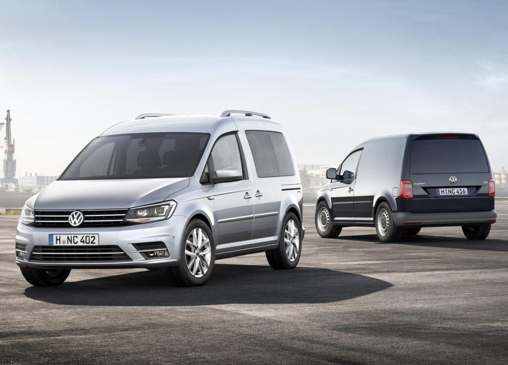 Volkswagen Caddy GNC, la furgoneta versátil y ecológica