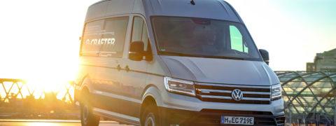 Nuevo Volkswagen e-Crafter, el furgón 100% eléctrico