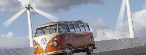 Presentado el prototipo Volkswagen e-BULLI, reinterpretando un clásico