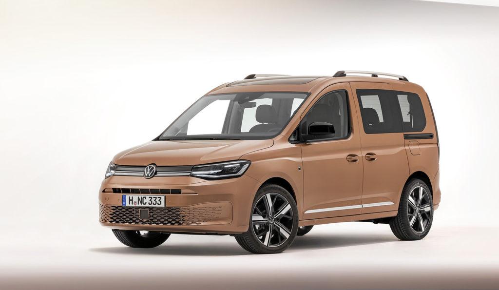 Presentada la nueva generación: así es el Volkswagen Caddy 2020