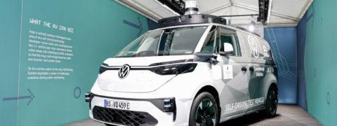 Volkswagen ID. BUZZ AD: el vehículo autónomo del futuro próximo
