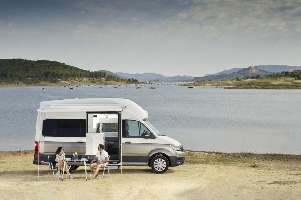 Los visitantes del Salón Caravaning sueñan con el Volkswagen California
